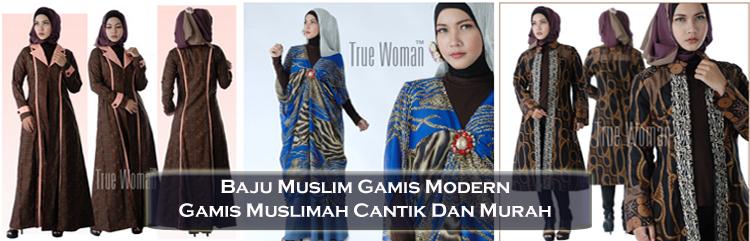 Baju Muslim Modern Santai Gamis Muslim Terbaru Dan Murah
